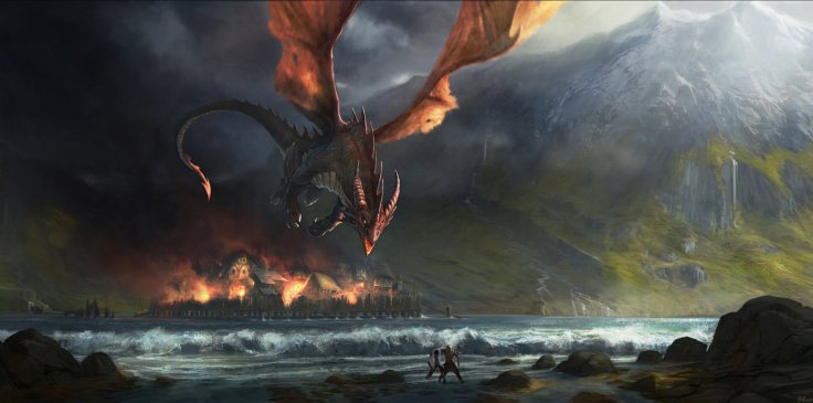 smaug_destroys_esgaroth_by_gaius31duke